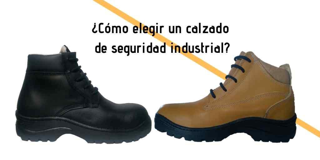 Imagen de comparación de zapato de seguridad industrial