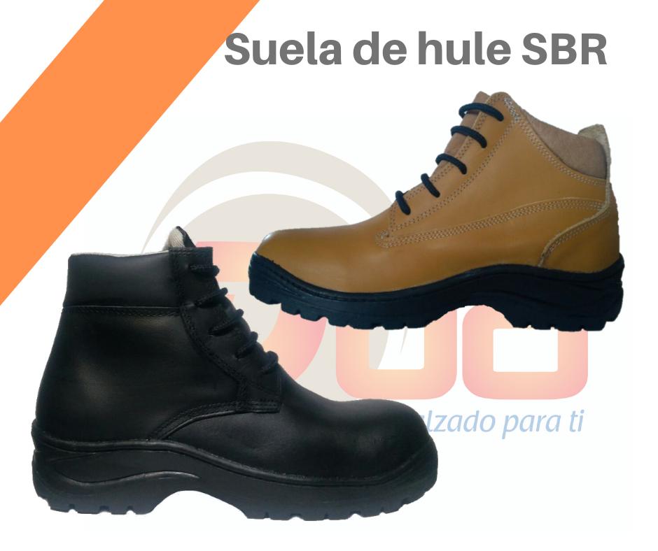 Botas suela de hule SBR