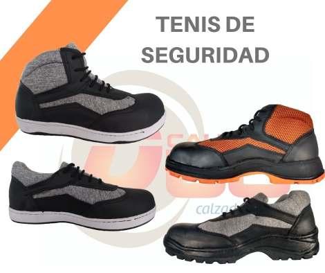 modelos de tenis industriales con casquillo